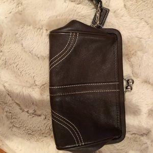 Coach clutch pocket book